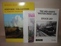 Preserved Railway Lines Booklets