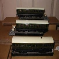 Rare Trix Twin Pre-War  SR EMU 3-Car Set