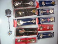 Silver Plated Collectible Spoons