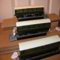 Three Rare Trix Twin SR coaches