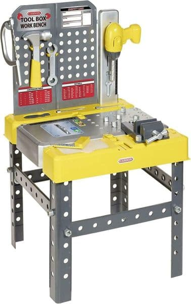 Casdon - TOOL BOX WORKBENCH - With Tools