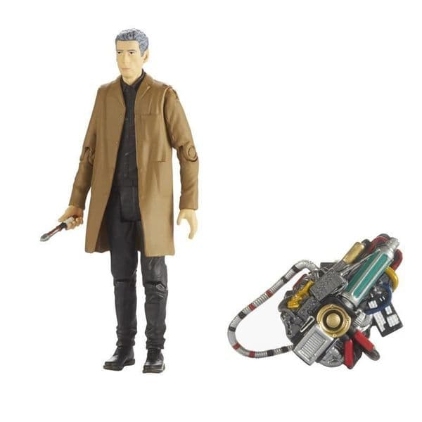 Doctor Who WAVE 4 - TWELFTH Dr With CARETAKER OUTFIT Figure - Dr- NEW