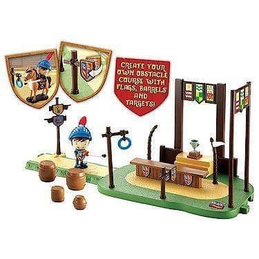 Mike The Knight GLENDRAGON ARENA With EXCLUSIVE Figure - NEW