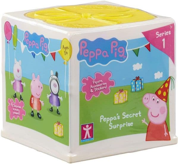 Peppa Pig - SECRET SURPRISE CRATE  -  Surprises