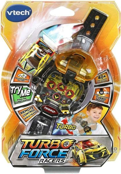 Vtech - TURBO FORCE RACERS Wristband - YELLOW