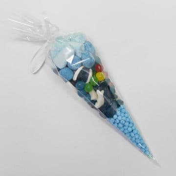 £1 Blue Party Cone