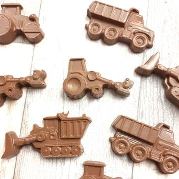 Assorted  Trucks Shapes Milk and White