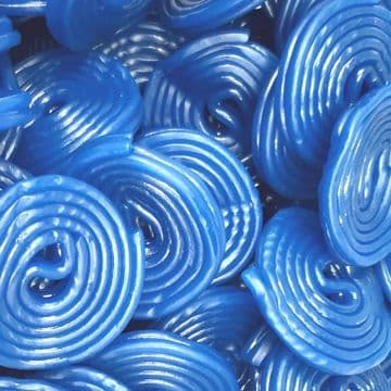 Blue Raspberry Wheels Liquorice