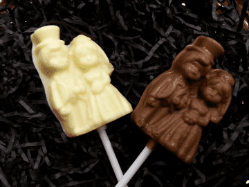 Bride & Groom Lollipop