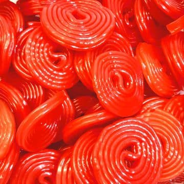 Cherry Liquorice Wheels