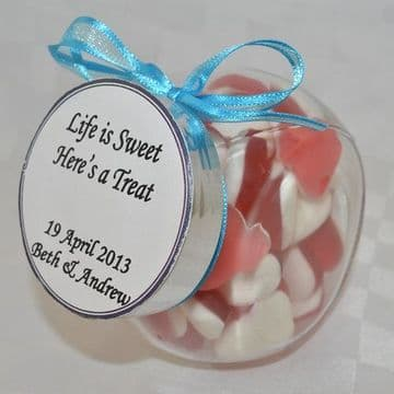 Glass Jar Wedding Favour