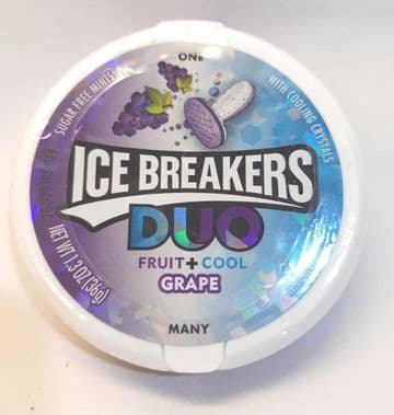 Ice Breakers Duo Fruit and Cool Grape