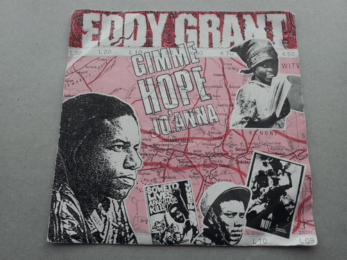 "EDDY GRANT GIMME HOPE JO'NNA/SAY HELLO TO FIDEL  (7"" SINGLE)"