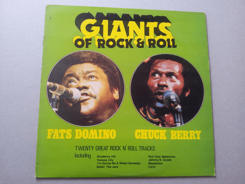 FATS DOMINO & CHUCK BERRY GIANTS OF ROCK & ROLL  (ALBUM)