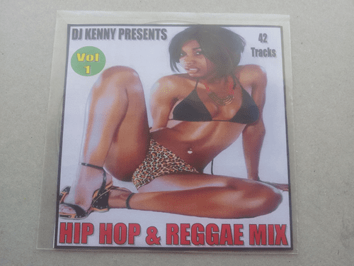 HIP HOP & REGGAE MIX VOLUME 1 (CD OR MP3)