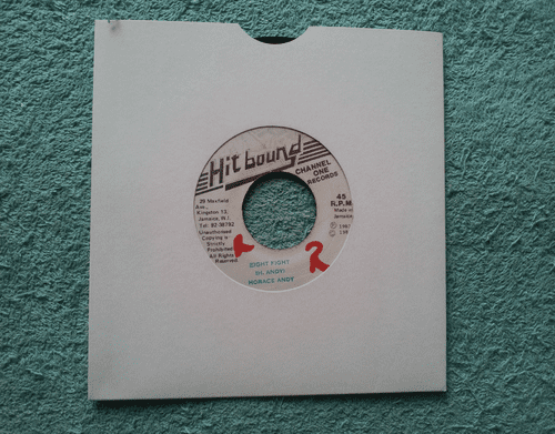 """HORACE ANDY EIGHT FIGHT  (7"""" SINGLE)"""