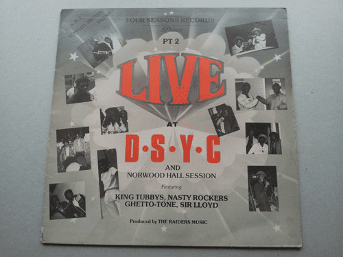 LIVE AT D.S.Y.C. PART TWO (ALBUM)