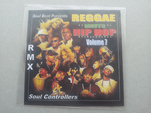 REGGAE MEET HIP HOP VOLUME.7 (CD OR MP3)