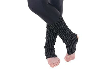 Tappers and Pointers Black Leg Warmers