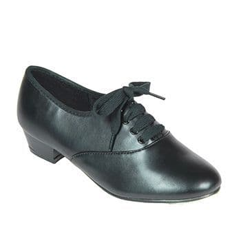 Tappers and Pointers  Black PU Boys And Mens Oxford Tap Shoes