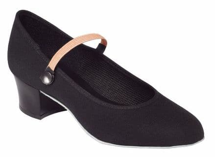 Tappers and Pointers Cuban Heel Canvas Character Shoe