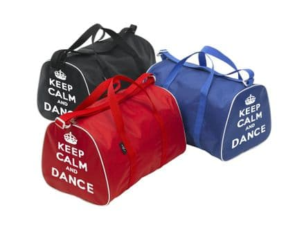 Tappers and Pointers Holdall Bag With Keep Calm and Dance Motif
