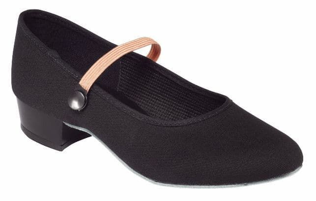 Tappers and Pointers Low Heel Canvas Character Shoe