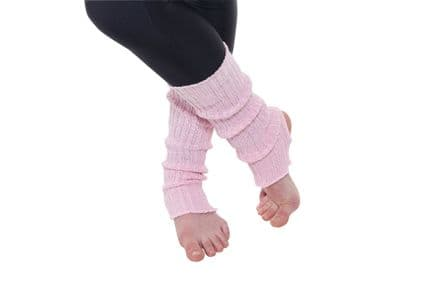 Tappers and Pointers Pale Pink Leg Warmers