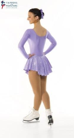 Tappers and Pointers Purple Skating Dress