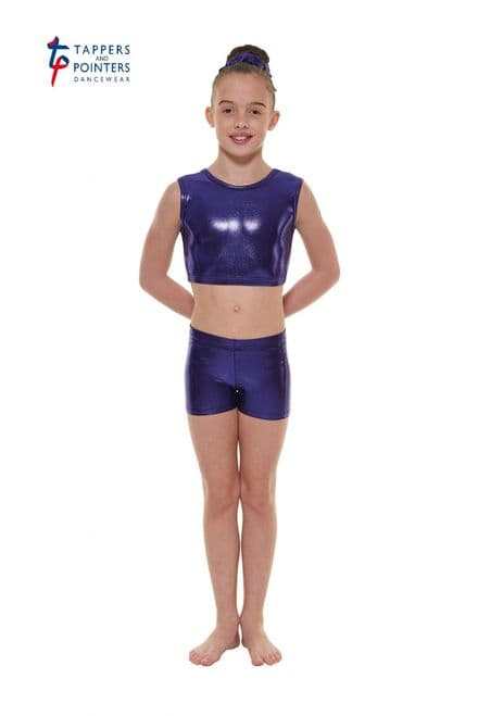 Tappers and Pointers Sugar Plum Shine Crop Top