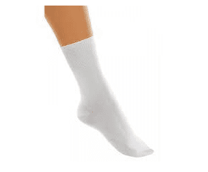 Tappers and Pointers White Nylon Dance Socks