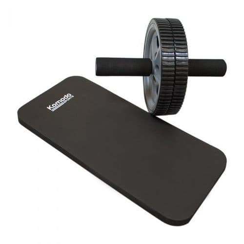 Komodo Ab Roller with Knee Pad - Abdominal Core Strength Training Workout