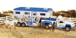 Stablemates Animal Rescue Truck And Trailer