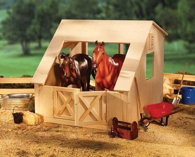 Traditional Wood Stable
