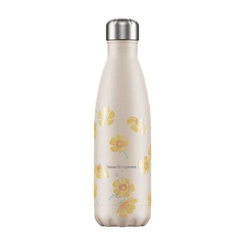 Chilly's Bottle 500ml Emma Bridgewater Buttercup