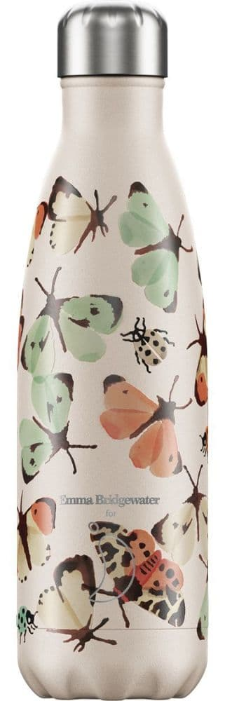 Chilly's Bottle 500ml Emma Bridgewater Butterflies and Bugs