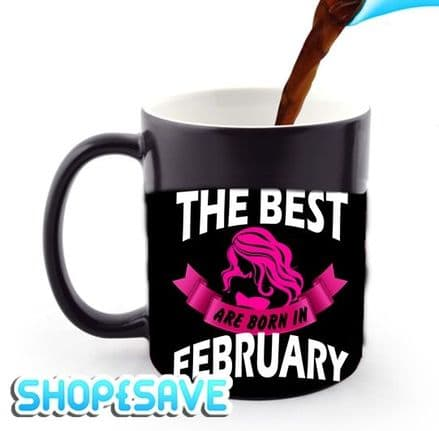 All Woman Are Equals, But The Best Born In, Heat and Reveal Magic Large Handle Mug