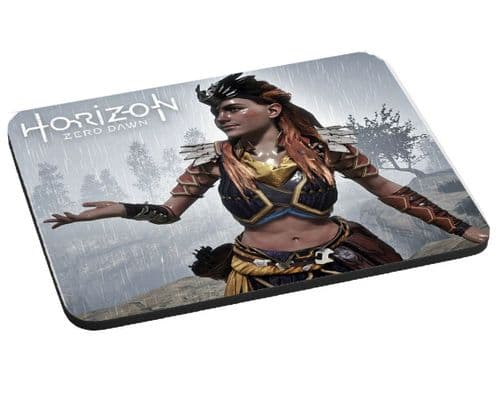 Aloy Horizon Zero Dawn, Mouse Mat, Gift, Pad 220mm x 180mm, 5mm Thick
