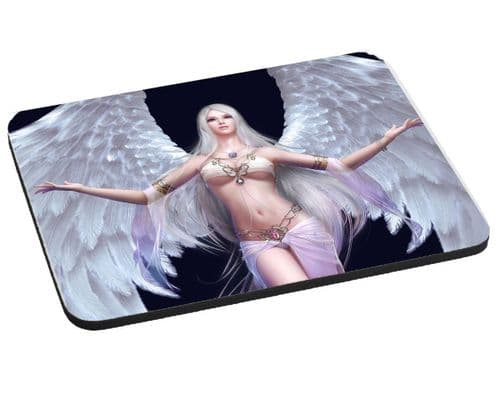 Angel Warrior Theme, Mouse Mat, Pad 220mm x 180mm, 5mm Thick