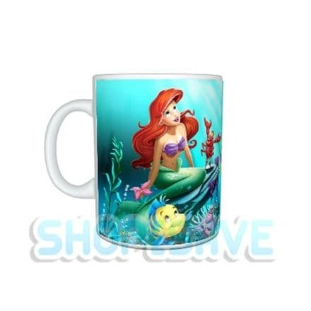 Any Name Personalised Disney Princess Ariel 11oz Large Handle Mug