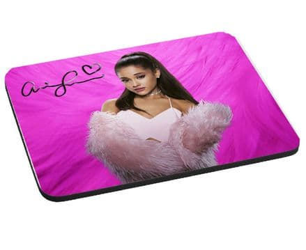 Ariana Grande, Mouse Mat Gift, Pad 220mm x 180mm, 5mm Thick