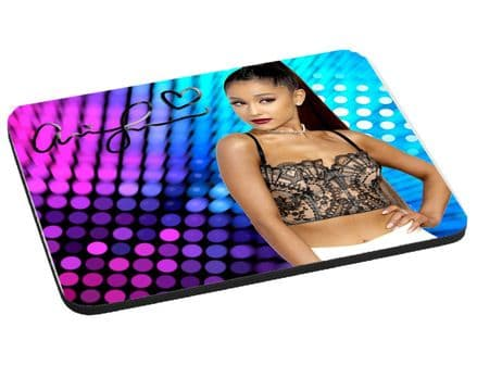 Ariana Grande, Mouse Mat, Pad, 220mm x 180mm, 5mm Thick