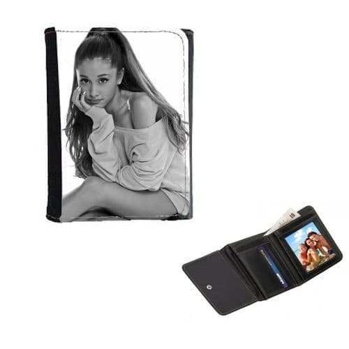 Ariana Grande Theme Mens, Ladies, Girls Wallet or Purse 12cm x 9cm