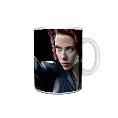 Avengers, Black Widow, Scarlett Johansson, Special Gift, Large Handle 11ox Mug