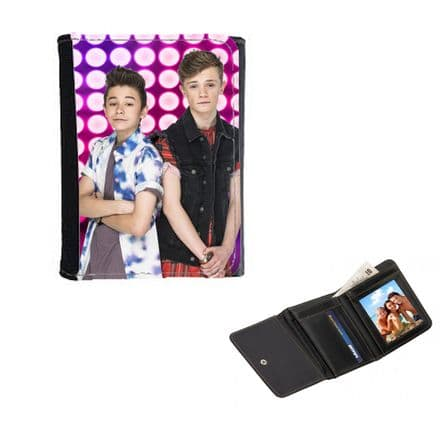 Bars And Melody Theme Mens, Ladies, Girls Wallet or Purse 12cm x 9cm