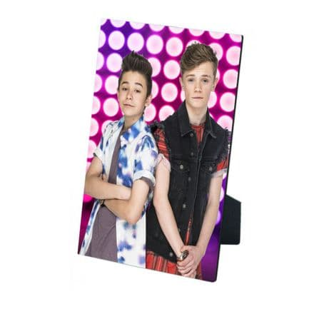 Bars & Melody MDF Photo Panel 5'' x 7'' with Easel