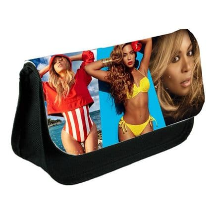 Beyonce Black Pencil Case Or Make-Up Bag Gift