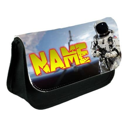Call Of Duty, Infinite Warfare Pencil Case Or Make-Up Bag Black Personalised