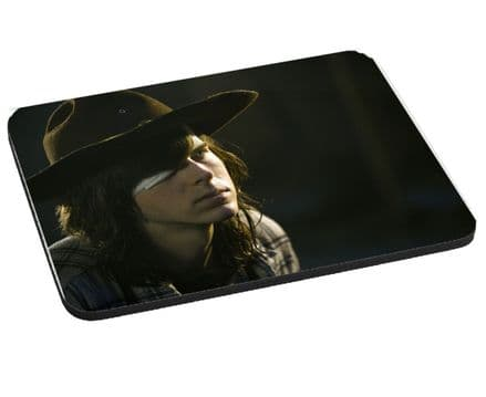 Carl Grimes, Walking Dead, Mouse Mat, Pad 220mm x 180mm, 5mm Thick