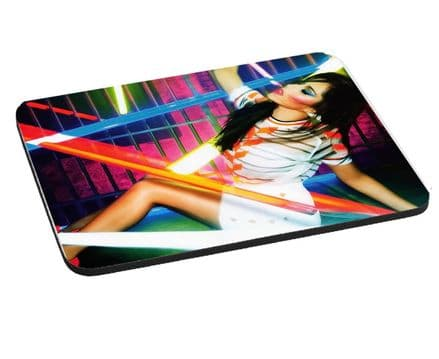 Cheryl Cole Mouse Mat, Pad 220mm x 180mm, 5mm Thick